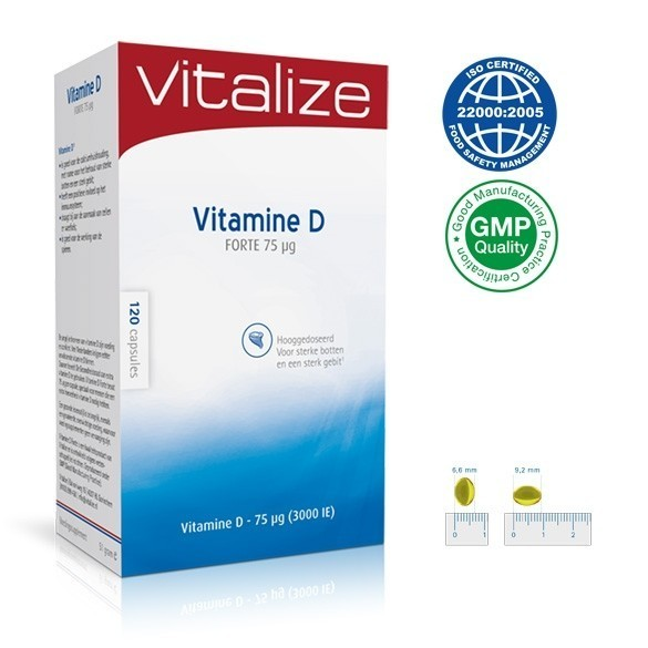 Vitamine D Forte 3000 IE
