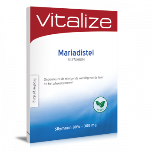 Vitalize Silymarin 300 mg 20 capsules proefverpakking