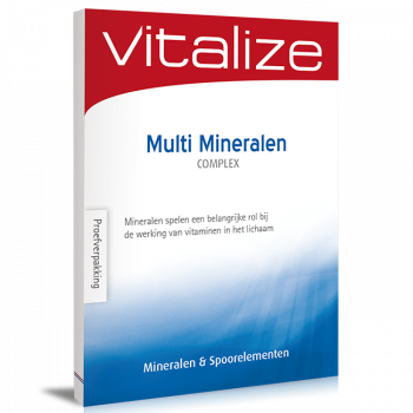Vitalize Multi Mineralen Complex 20 tabletten proefverpakking