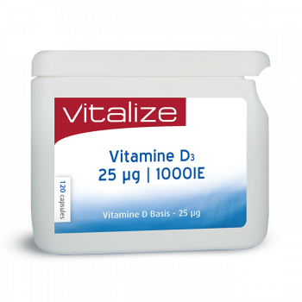 Vitamine D - D3 Basis 25 ug/mcg