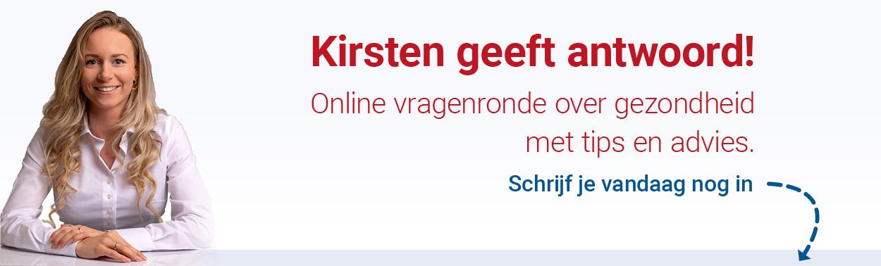 Kirsten geeft antwoord